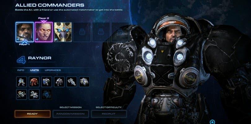 Blizzard presenta un nuevo modo de juego para StarCraft II: Legacy of the Void