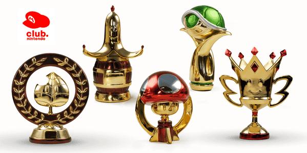 trofeos Mario Kart 7