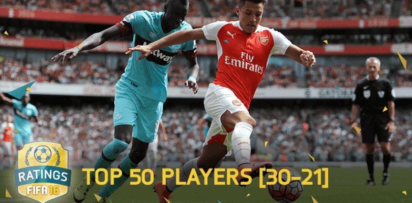 TOP 50 jugadores en Ultimate Team 16 (30-21)
