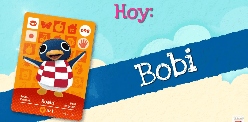 Animal Crossing: Happy Home Designer presenta a Bobi