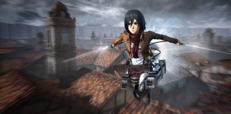 Espectaculares nuevas imágenes del juego Ataque a los Titanes