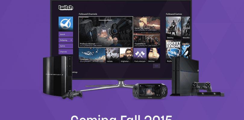 Este año llegará a PlayStation la aplicación oficial de Twitch