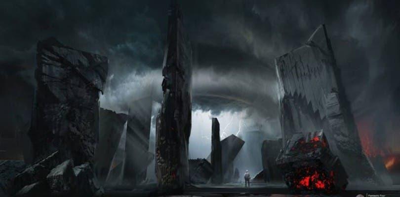 ¿Cómo eran los concept-art de Planeta Cero para Cuatro Fantásticos?