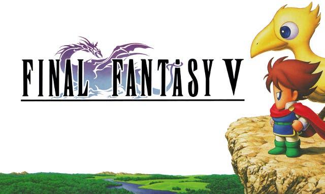 Final Fantasy V portada AJ B
