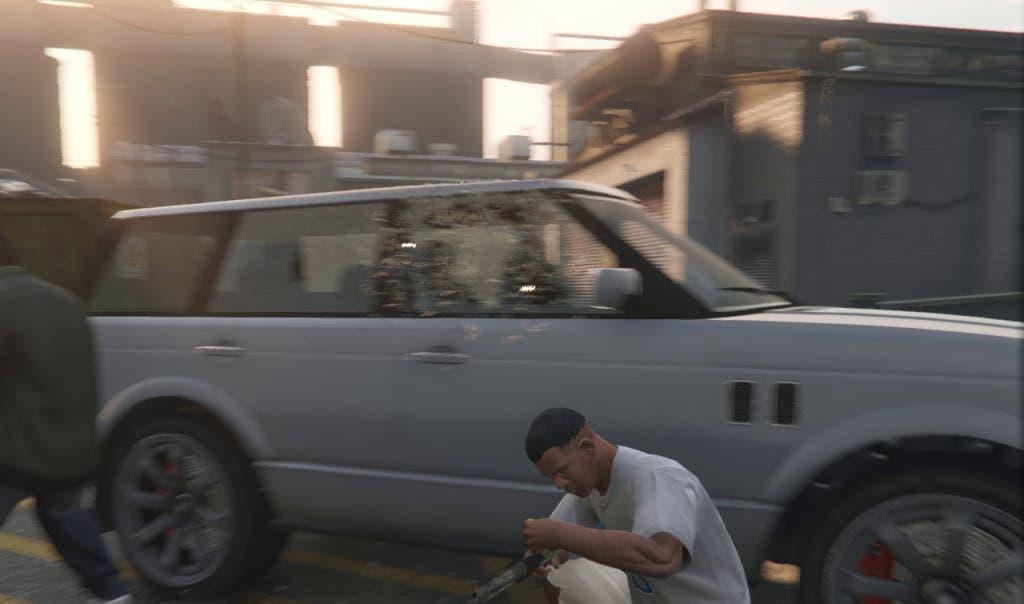 GTA V epic blur