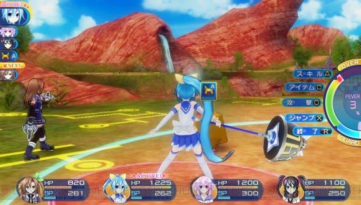 Hyperdimension-War-Neptunia-VS-Sega-Hard-Girls-permitirá-el-cambio-de-clases-1