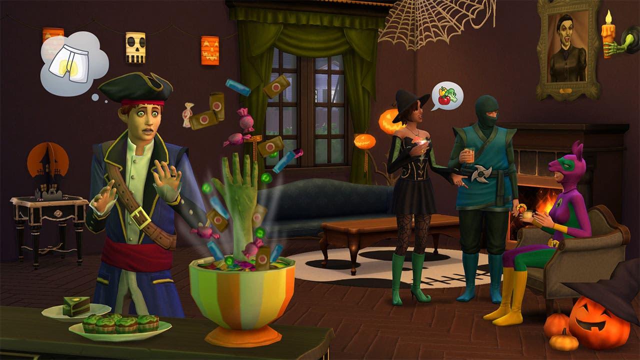 Los Sims 4 Spooky Stuff1