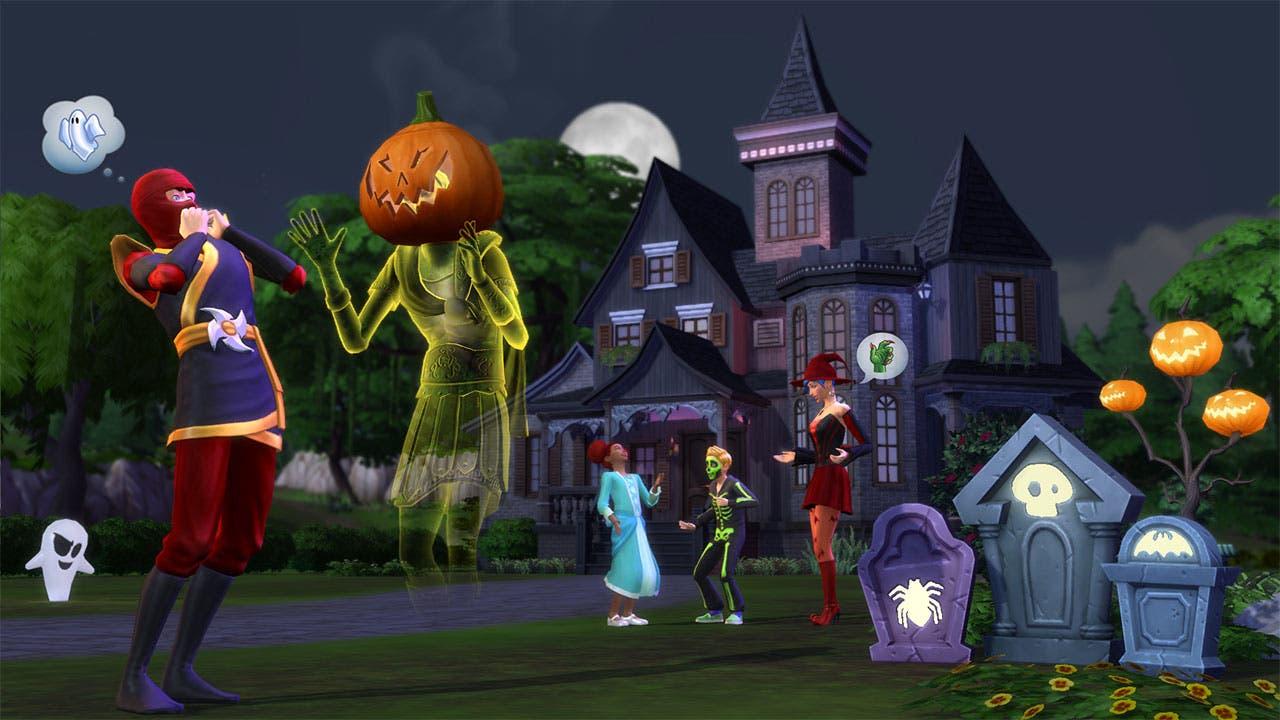 Los Sims 4 Spooky Stuff2