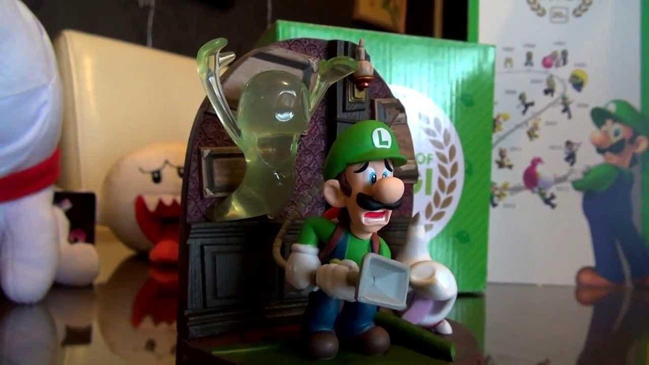Luigi mansion 2 diorama