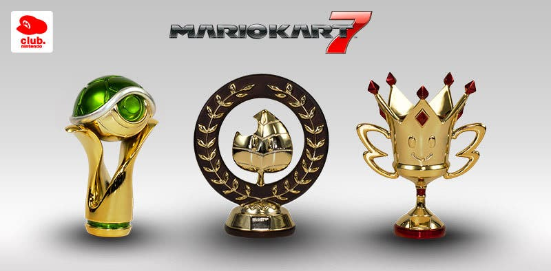 Mario Kart 7 trofeos