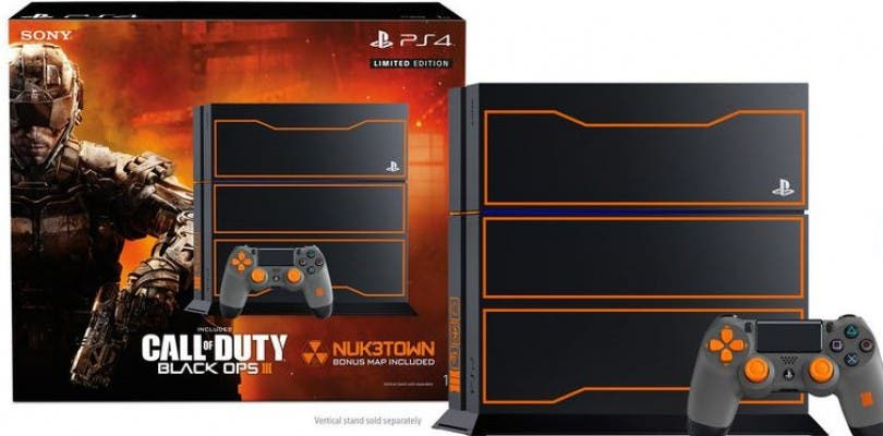 "Pack ""edición limitada"" de PlayStation 4 con el diseño de Call of Duty Black Ops 3"