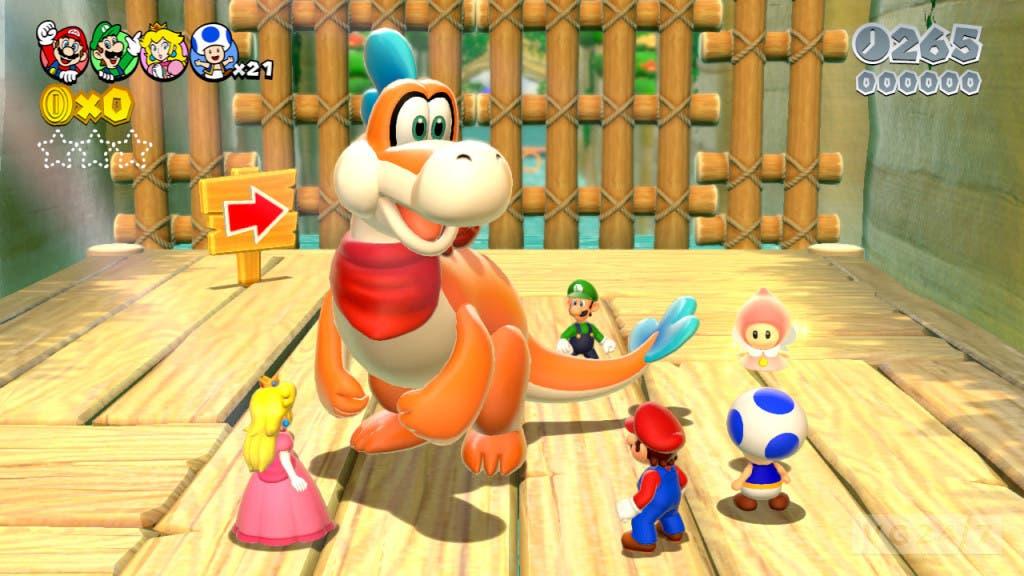 Plessie Super Mario 3D World