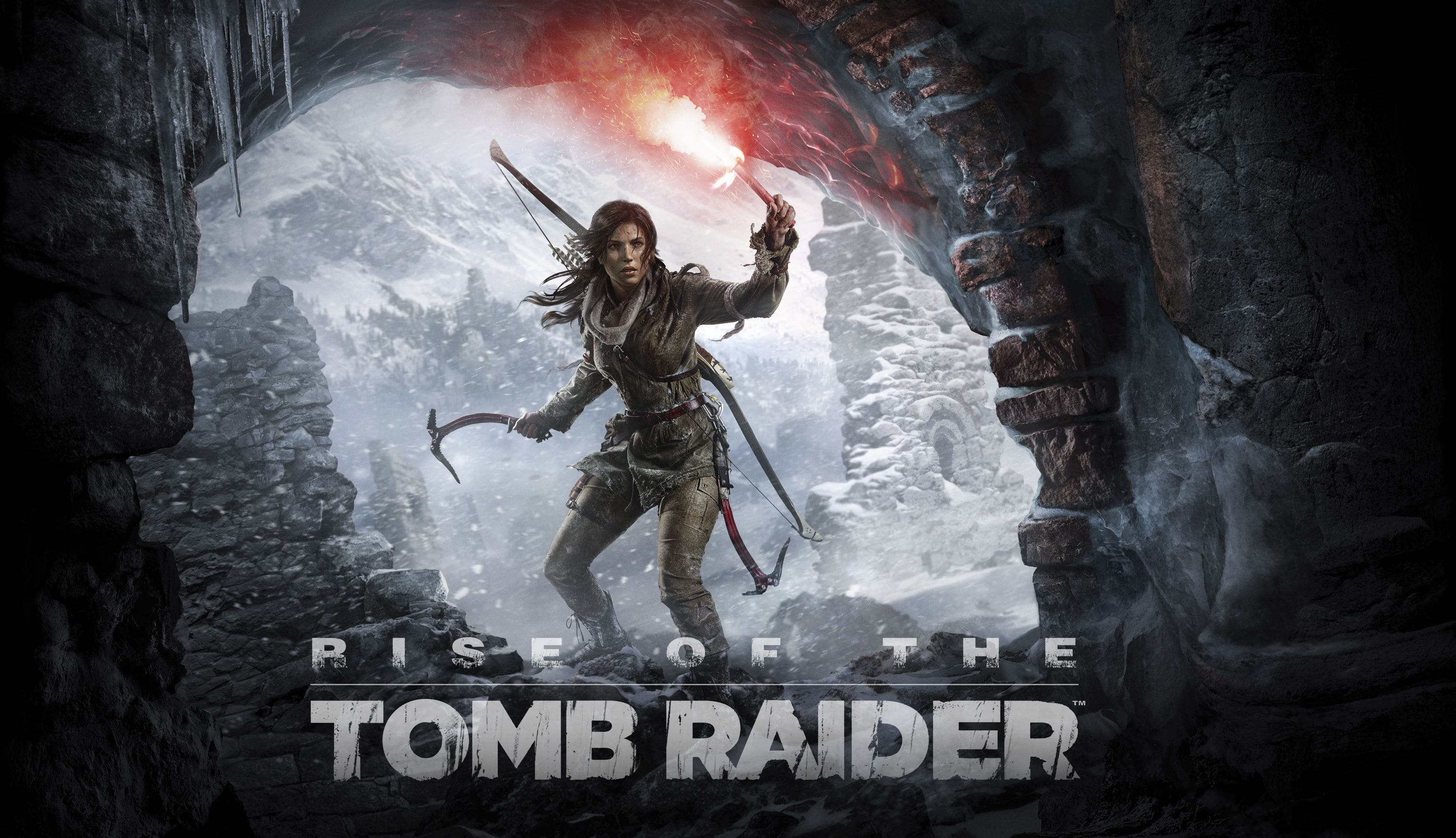 Rise of the tomb raider logo