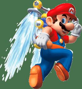 Super Mario Sunshine -Mario