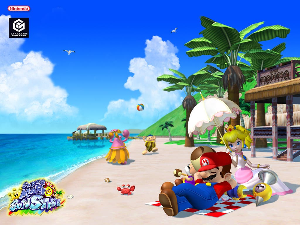 ¿Pudo Mario al fin relajarse en Isla Delfino?