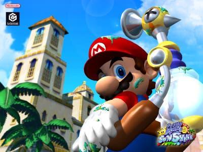Super Mario Sunshine plaza