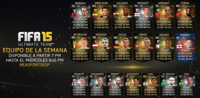 Equipo de la Semana FIFA 15 Ultimate Team (9 septiembre – 16 septiembre)