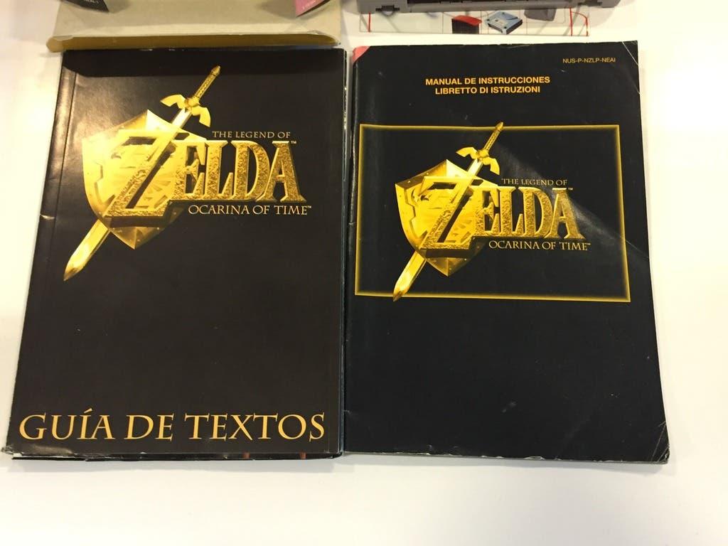 The legend of zelda guia de textos