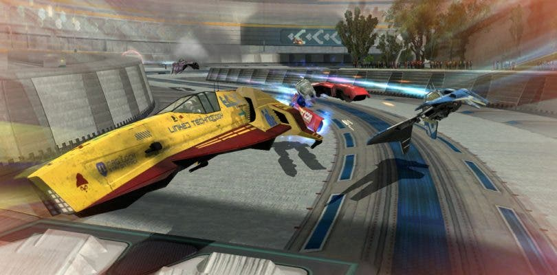 Una nueva nave llega a Wipeout Omega Collection