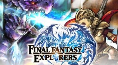 Imagen de Las profesiones de Final Fantasy Explorers se muestran en una nueva imagen