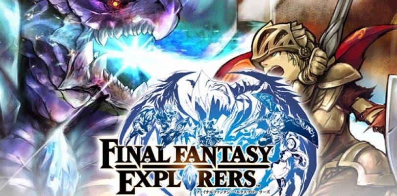 Final Fantasy Explorers muestra su edición coleccionista y su fecha de lanzamiento