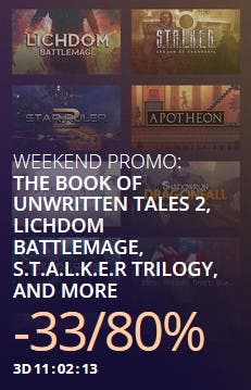 gog weekend sale