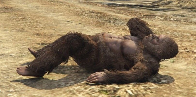 Encuentran en GTA V un peyote que te transforma en Bigfoot