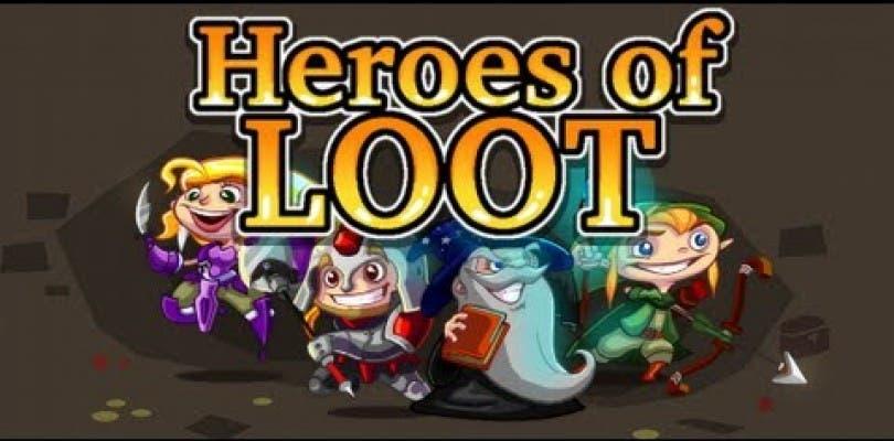Heroes of Loot llegará a PlayStation Vita este mismo mes