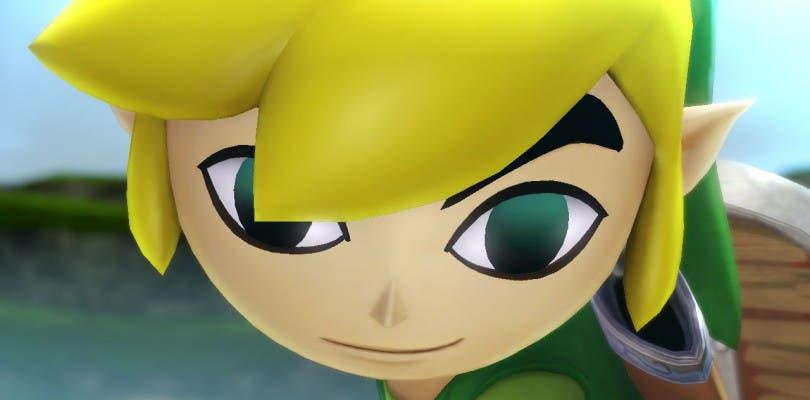 Toon Link en acción en Hyrule Warriors Legends