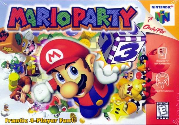 mario party nintendo 64