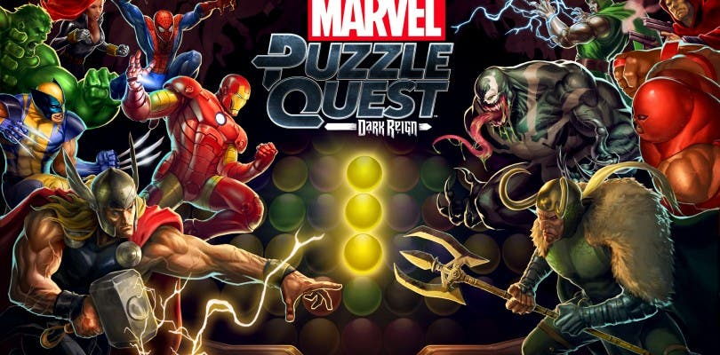 Marvel Puzzle Quest: Dark Reign disponible para Xbox