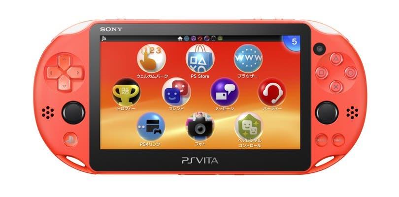 Sony anuncia tres nuevos colores de PlayStation Vita para Japón