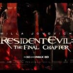 Dos nuevos pósteres de Resident Evil: The Final Chapter
