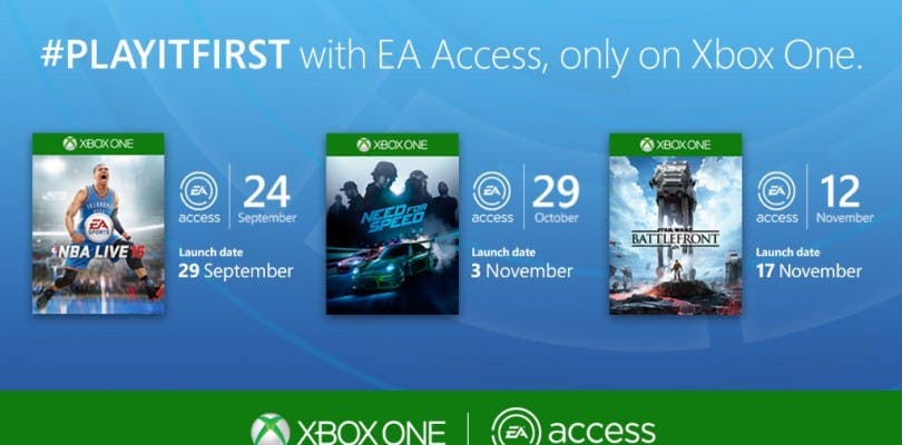 Star Wars Battlefront y Need for Speed antes en Xbox One