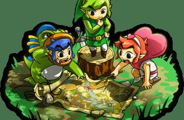 Nintendo publica el tráiler definitivo de The Legend of Zelda: Tri Force Heroes