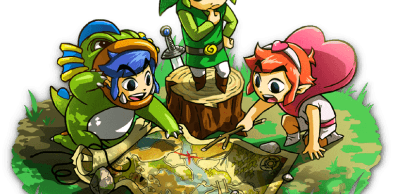 El nuevo gameplay de The Legend of Zelda: Tri Force Heroes muestra el uso de la vara de agua