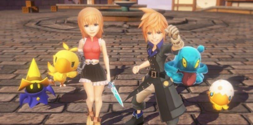 Nuevas imágenes de más personajes de World of Final Fantasy