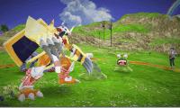 Detalles de dos de las protagonistas de Digimon World: Next Order