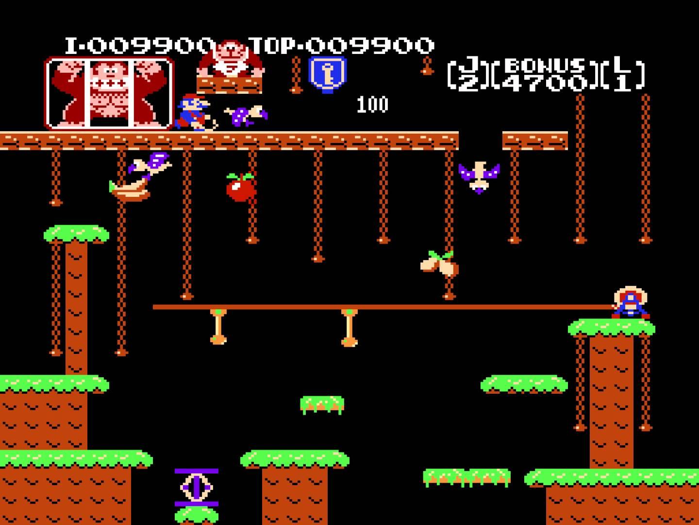 Nintendo registra la patente Donkey Kong Jr.