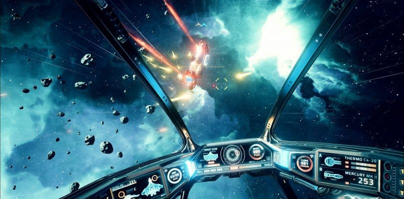 La alpha cerrada de Everspace empieza el 29 de abril