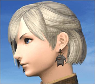 Goobbue Earrings
