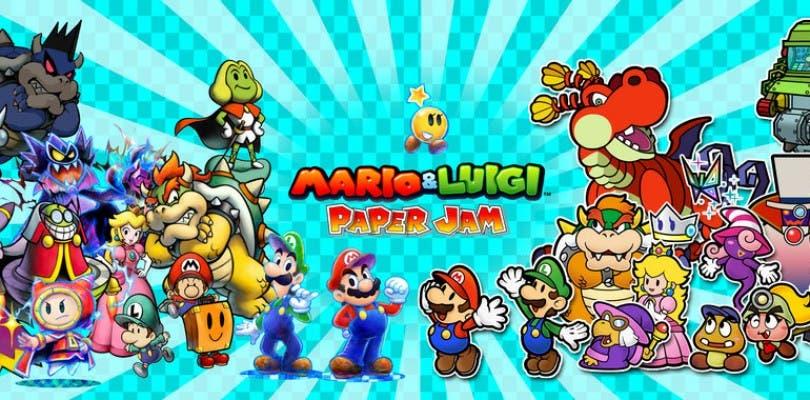 Nueva tanda de imágenes de Mario & Luigi: Paper Jam Bros.