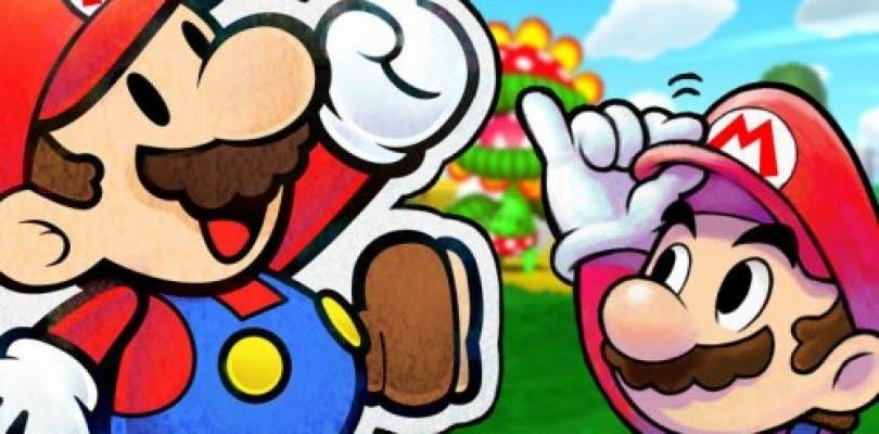 Se muestran nuevos detalles de Mario & Luigi: Paper Jam Bros.