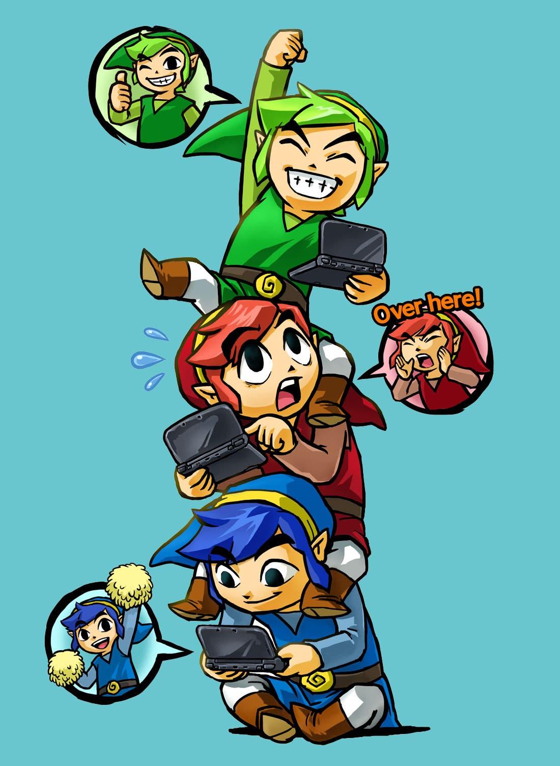 The Legend of Zelda Tir force heroes