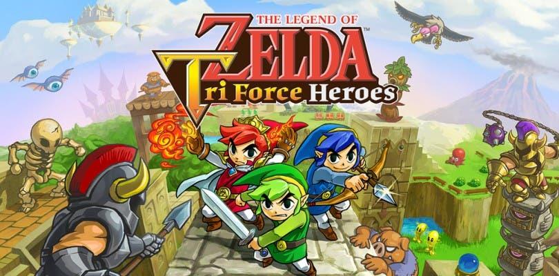 The Legend of Zelda: Tri Force Heroes vende menos de lo esperado en Japón