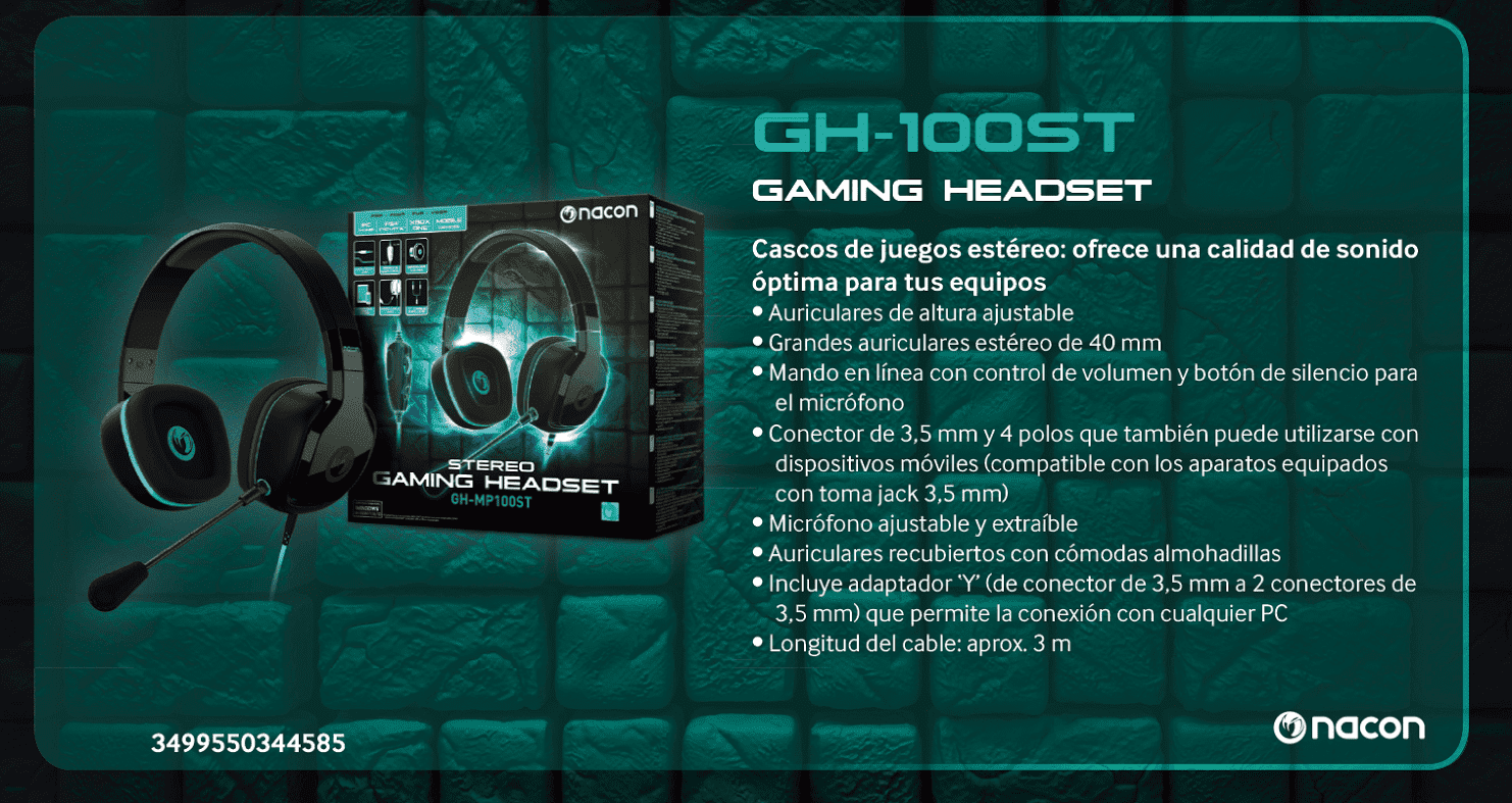 gaming headset nacon
