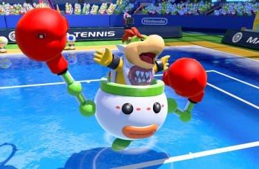 Bowsy y Bowsitos se enfrentan en el nuevo tráiler de Mario Tennis: Ultra Smash