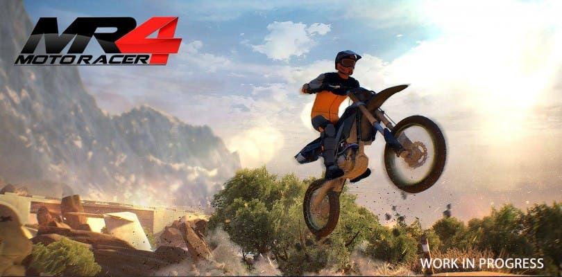 Salen a la luz las primeras capturas de Moto Racer 4