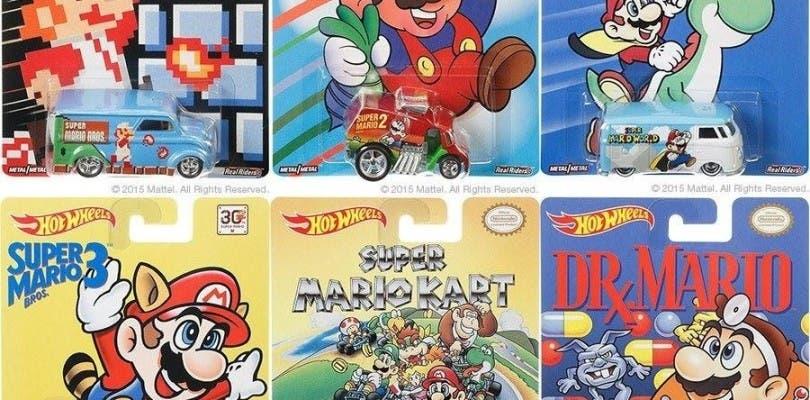 Este mes llegan los Hot Wheels de Mario