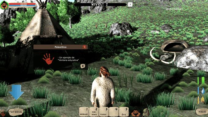 prehistory gameplay